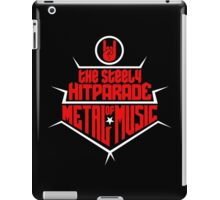 The steely Hitparade of Metal Music 2 (red white) iPad Case/Skin