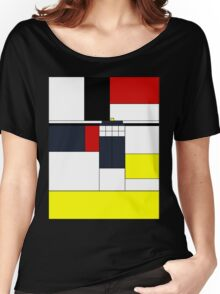 Mondrian Tardis Women's Relaxed Fit T-Shirt