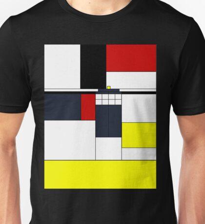 Mondrian Tardis Unisex T-Shirt