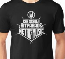 The steely Hitparade of Metal Music 2 (white) Unisex T-Shirt