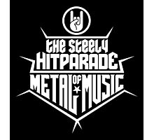 The steely Hitparade of Metal Music 2 (white) Photographic Print