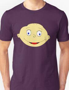 Funny Baby Head Unisex T-Shirt