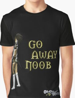 Runescape go away noob Graphic T-Shirt