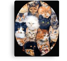 Cats Against Cat Call Canvas Print
