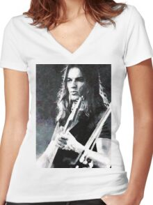 David Gilmour Women's Fitted V-Neck T-Shirt