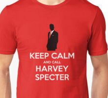 Keep Calm and Call Harvey Specter (white) Unisex T-Shirt