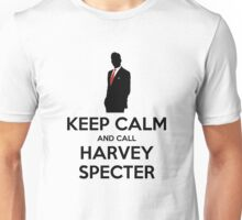 Keep Calm and Call Harvey Specter (Black) Unisex T-Shirt