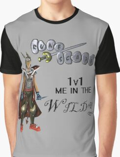 Runescape 1v1 me Graphic T-Shirt