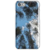 swaying tops of bare trees  iPhone Case/Skin