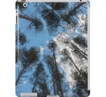 swaying tops of bare trees  iPad Case/Skin