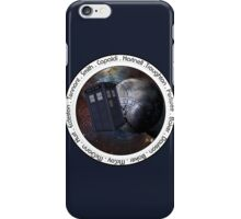 Doctor Who: The Doctors iPhone Case/Skin