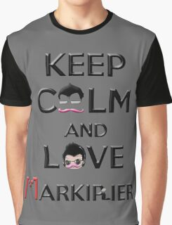 Keep calm and love Markiplier Graphic T-Shirt