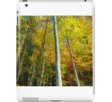 Painted color trees iPad Case/Skin