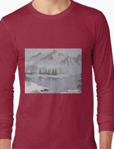 Rocky Mountain Fog Long Sleeve T-Shirt