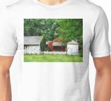 Red Farm Shed Unisex T-Shirt