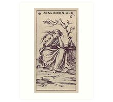 Malinconia Tarot Art Print