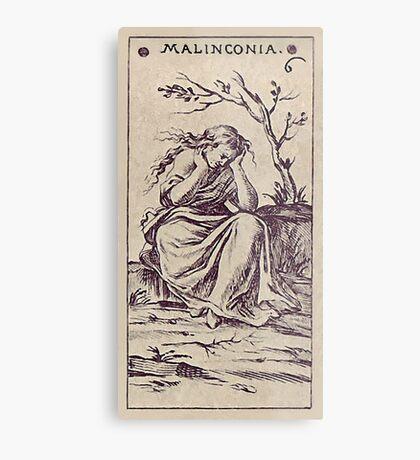 Malinconia Tarot Metal Print