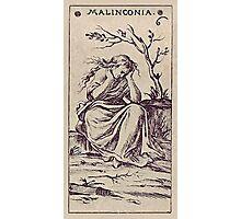 Malinconia Tarot Photographic Print