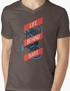 Life Behind Bars Mens V-Neck T-Shirt