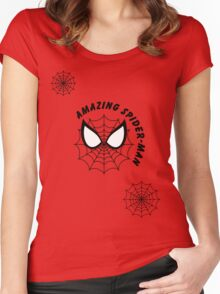 Amazing Spider-man Women's Fitted Scoop T-Shirt