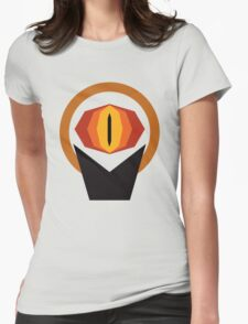 The Lord of the Rings Minimal Art Womens Fitted T-Shirt