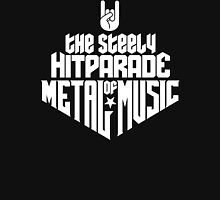 The steely Hitparade of Metal Music No.1 (white) Unisex T-Shirt