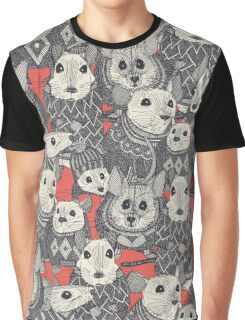 sweater mice coral red Graphic T-Shirt