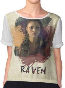 Raven - The 100 -  Brush Chiffon Top