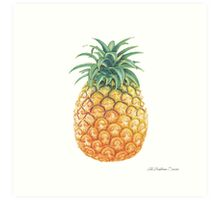 The Tropicana Series - Pineapple Art Print
