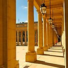 Colonnade at the Palais-Royal by Alex Cassels