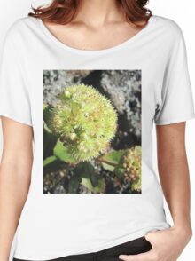 Green is good and the flower shot Women's Relaxed Fit T-Shirt