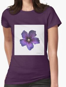 The Tropicana Series - Hibiscus Womens Fitted T-Shirt