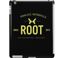 Person of Interest - Root - Black iPad Case/Skin