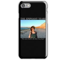 The waves break to the beat of my heart iPhone Case/Skin