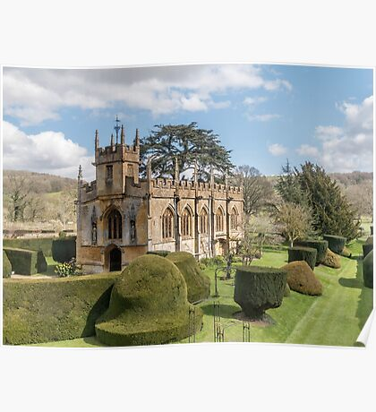 St. Mary's Church Sudeley Castle near Winchcombe Cotswolds UK Poster