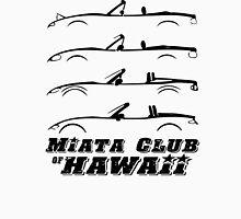 Miata Club of Hawaii 4 GEN Dark Graphic Print Unisex T-Shirt