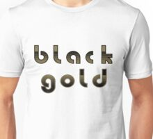 Black And Gold Whodat Unisex T-Shirt