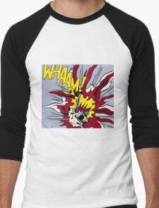 Whaam! Poster Men's Baseball ¾ T-Shirt