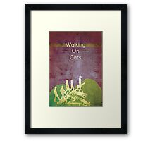 Walking on Cars  Framed Print