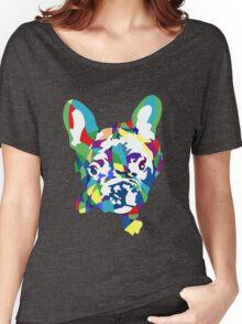 Französische Bulldogge Welpe Women's Relaxed Fit T-Shirt