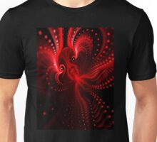Screaming Red Octopus Unisex T-Shirt