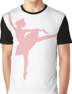 Ballerina (pink) Graphic T-Shirt