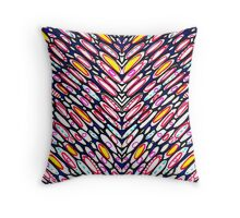 Eliptic Heart Throw Pillow