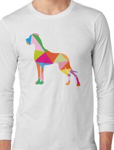 Triangle Great Dane One Long Sleeve T-Shirt