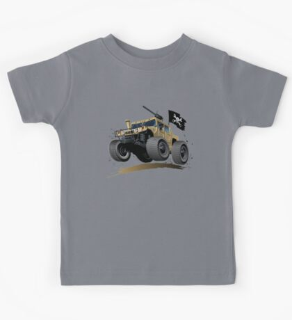 Cartoon Hummer Kids Tee