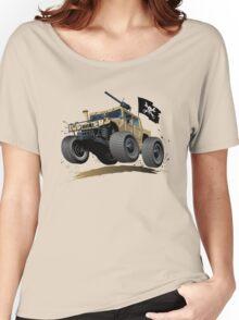 Cartoon Hummer Women's Relaxed Fit T-Shirt