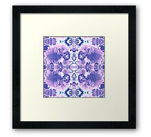 Abstract Blossom Framed Print