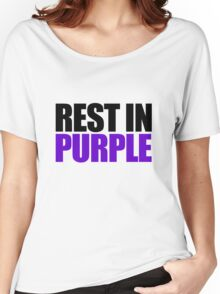 RIP Prince Rogers Women's Relaxed Fit T-Shirt