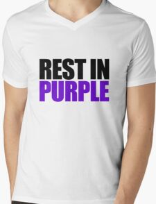 RIP Prince Rogers Mens V-Neck T-Shirt