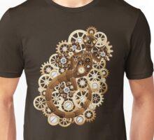 Steampunk Gecko Lizard Vintage Style Unisex T-Shirt